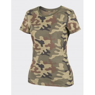 Helikon-Tex® Women's T-shirt - Cotton - PL Woodland