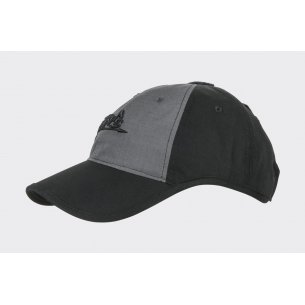Helikon-Tex® Logo Cap - Black / Shadow Grey B