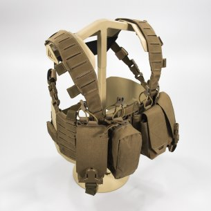 HURRICANE® HYBRID Chest Rig - Cordura® - Coyote Brown