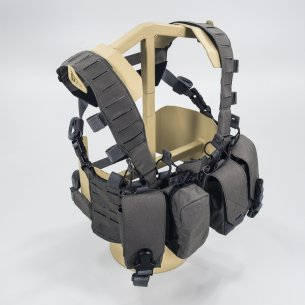 HURRICANE® HYBRID Chest Rig - Cordura® - Urban Grey