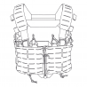 TEMPEST® Chest Rig - Cordura® - PenCott® BadLands®