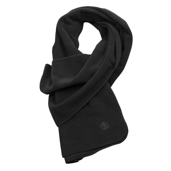 Pentagon Fleece Scarf - Black