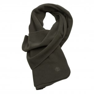 Pentagon Fleece Scarf - Olive green