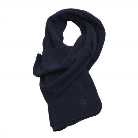 Pentagon Fleece Scarf - Navy Blue